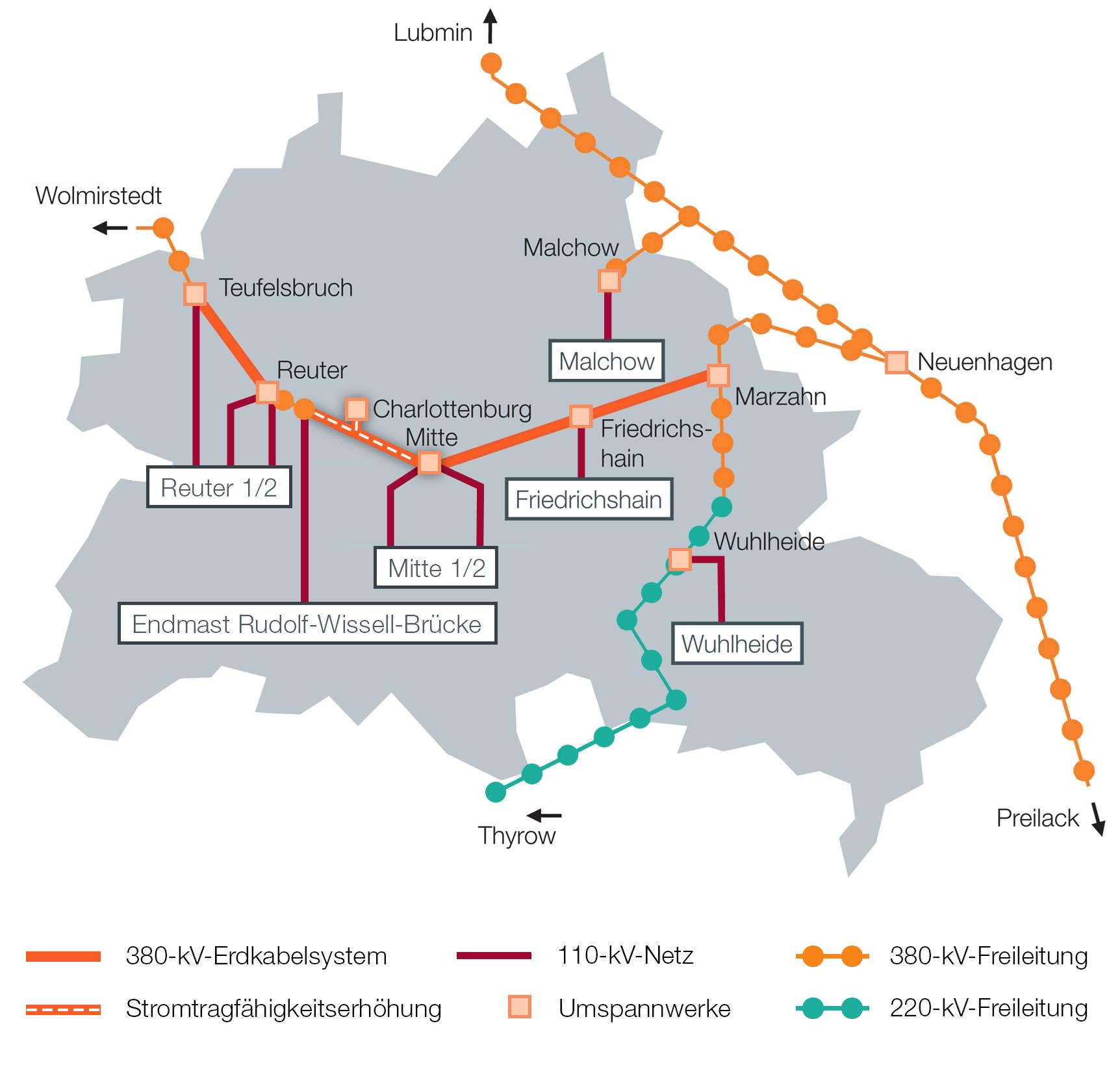 Berlin Mitte Karte.Kabeldiagonale Berlin